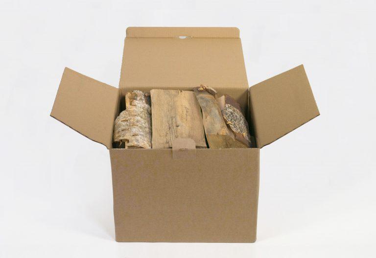 Beržinių malkų L dydžio dėžė