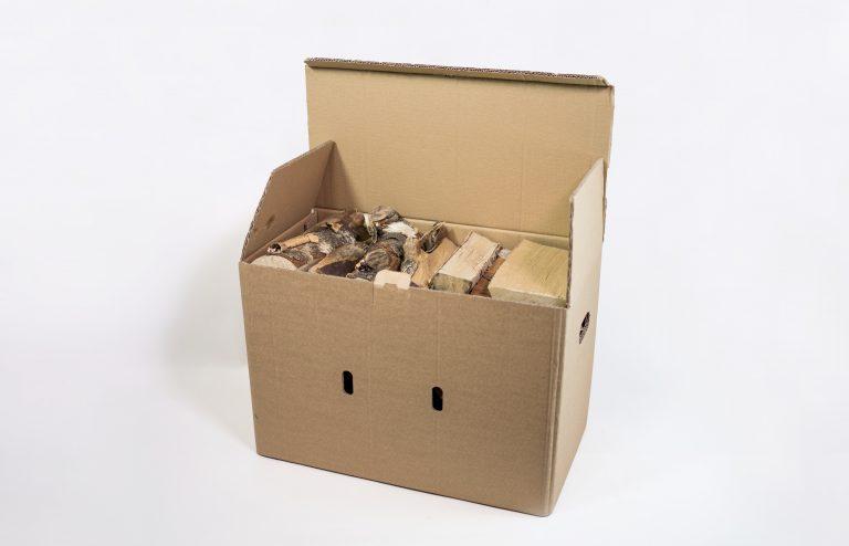 Beržinių malkų XL dydžio dėžė