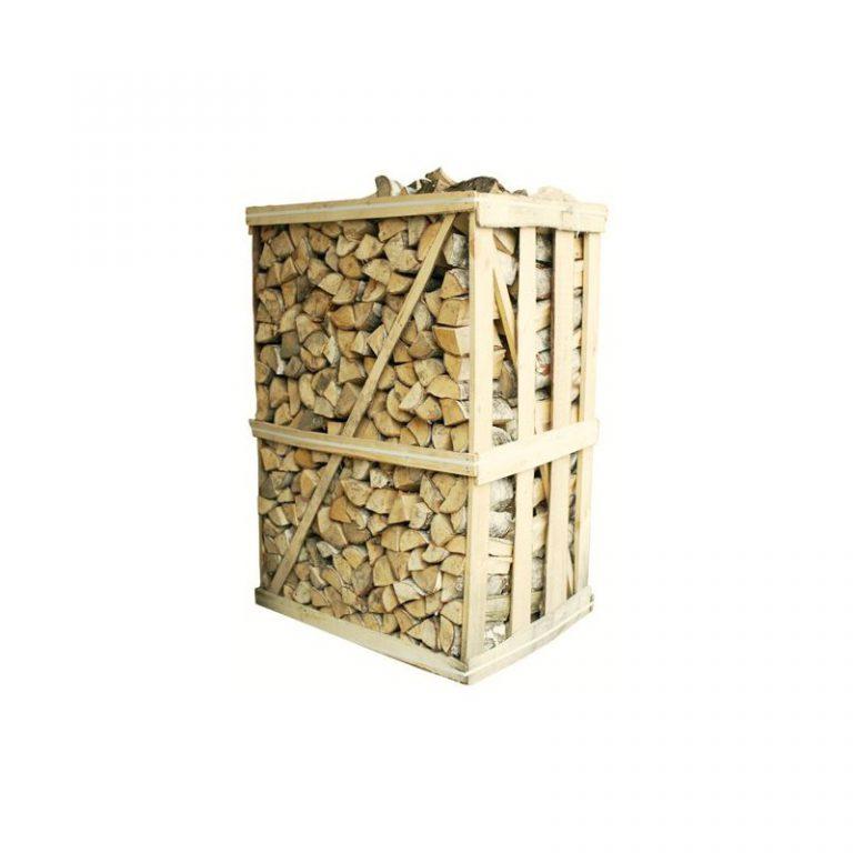 Beržinių malkų 2RM medinė dėžė